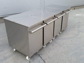 Pojemniki na materiały sypkie
